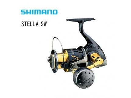 SHIMANO Stella SW Spinning Fishing Reels - Fishing Malaysia
